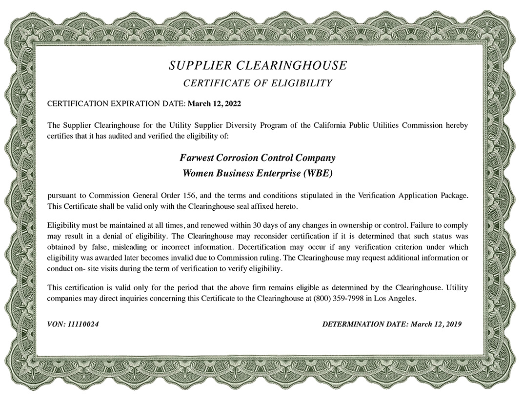Supplier clearinghouse certificate of eligibility farwest supplier clearinghouse certificate of eligibility 1betcityfo Image collections