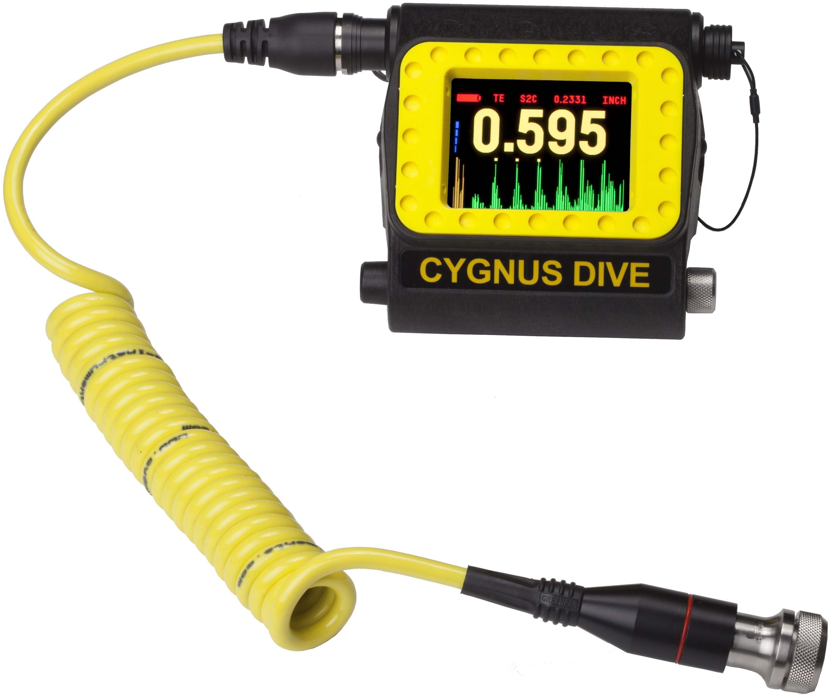 Ultrasonic Digital Thickness Gauge For Underwater Use Dive By Amprobes First Tier Advanced Circuit Tracer Basic Applications The Cygnus Uses Trusted Multiple Echo Technique Developed Over 25 Years Ago With Minimal Surface Preparation Will
