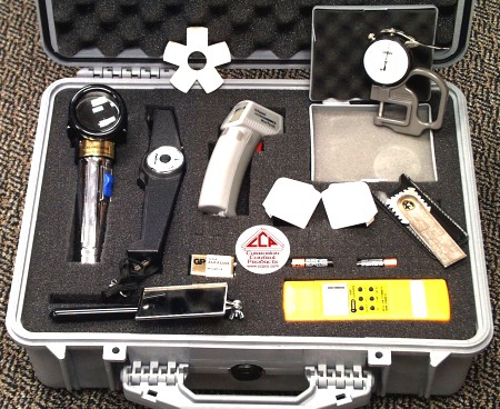 Standard Coating Thickness Inspection, Kit #1 by Farwest