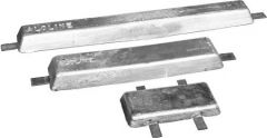 """Aluminum """"Hull"""" Anodes by Farwest Corrosion"""