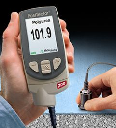PosiTector 200 Series Electronic Coating Thickness Gauges by DeFelsko