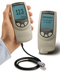 PosiTector 6000 Series Coating Thickness Gauge with Probe, by DeFelsko