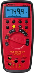 Amprobe 38XR-A True RMS Digital Multimeter with PC Interface
