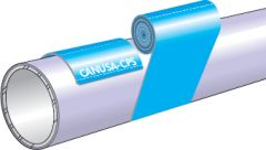 Wrapid Coat Outer Wrap for Wrapid Bond Coated Pipe by CANUSA-CPS