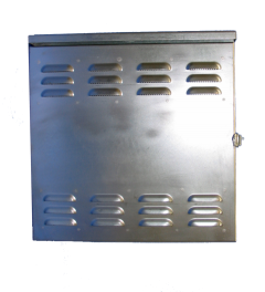Standard Galvanized Steel Enclosures for Cathodic Protection by Farwest Corrosion