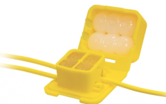 Model IDC DryConn Yellow Connector by King Innovations