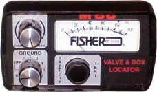 Model M-66 Valve and Box Locator by Fisher