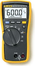 Model 114 True-RMS Multimeter by Fluke