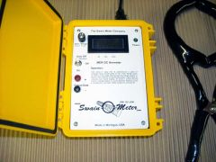 Model MER Clamp-on Digital DC Ammeter with Magnetic Error Correction by Swain Meter