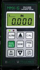 MMX Multi-Mode Thickness Gauges by Dakota Ultrasonics