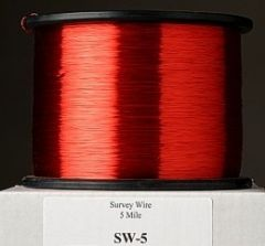 MicroMax Survey Wire in 5 Mile (8.0 km) Spools by American Innovations