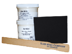 Epi-Seal Seam Sealer by Glas Mesh, 2 pound kit