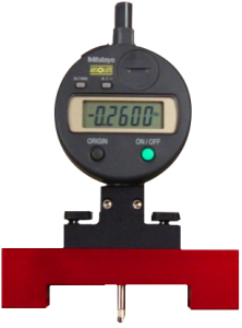 """PGMBD, Digital Pit Depth Gauge Kit with 4"""" Micro Bar & Case by Exacto"""