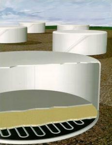 Plattline Zinc Ribbon Anodes for Above Ground Tanks by Platt Brothers