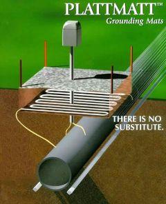 Plattline Zinc Ribbon Anode Grounding Mats by Plattline