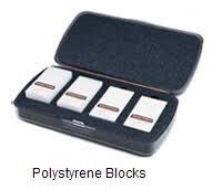 Certified Polystyrene Blocks by DeFelsko