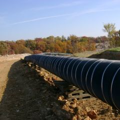 RockGuard HD Pipeline Protection Mesh by Industrial Fabrics, Inc.