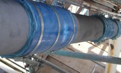 Snap Wrap (SW) Pipe Reinforcement System By Clock Spring Company